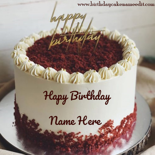 Creating personalized Happy Birthday Cake with Name