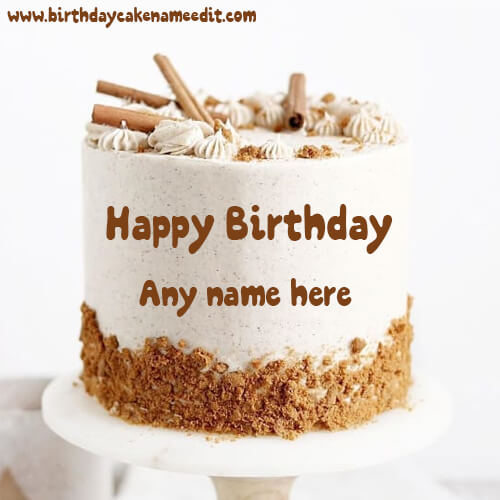 Happy Birthday Wishes Cake with Name for Your Loved Ones