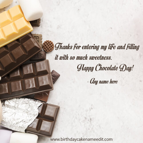 Happy Chocolate Day 2020 Wishes & Greetings with Quotes