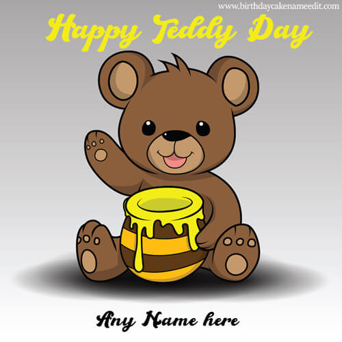 Happy Teddy Day Images with Name 2020