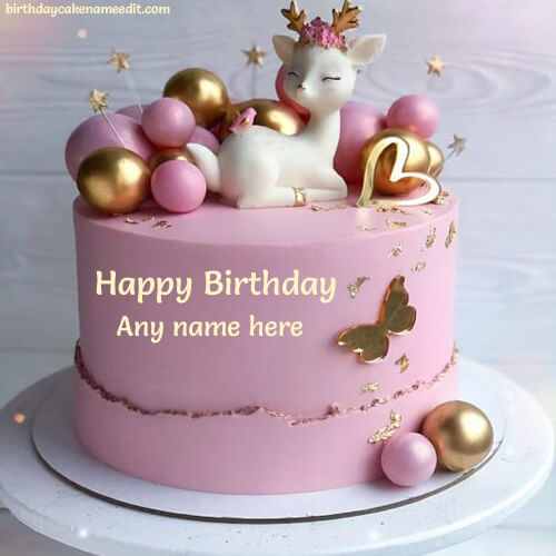 Write Name On Happy Birthday Wishes With Animal Pictures