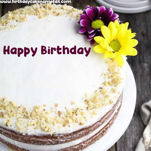 Happy Birthday Cake With Name.Create Happy Birthday Cake With Name Image