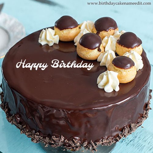 Awesome Happy Birthday Cake With Name Edit Personalised Birthday Cards Veneteletsinfo