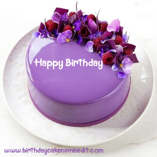 Remarkable Happy Birthday Cake With Name Edit Free Download Funny Birthday Cards Online Elaedamsfinfo